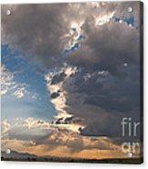Daybreak Panorama Acrylic Print