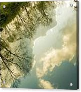 Daydreaming On The Canal Acrylic Print