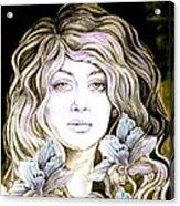 Daylily 2 Acrylic Print by Diana Shively