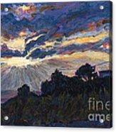 Day's End - Dingle Bay Acrylic Print