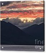 Days End On Lake Wakatipu Acrylic Print