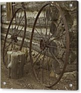 Days Gone By Acrylic Print by Kathleen Scanlan