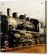 Days Of Steam And Steel Acrylic Print by Jeff Swan