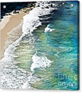Days That Last Forever Waves That Go On In Time Acrylic Print by Artist and Photographer Laura Wrede