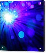 Dazzling Blue Acrylic Print
