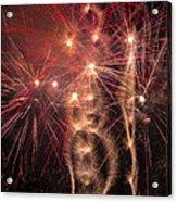 Dazzling Fireworks Acrylic Print