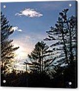 Dazzling Sunset Acrylic Print