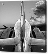 Dc-3 Rear View 1 Acrylic Print by Maxwell Amaro