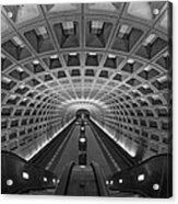 D.c. Subway Acrylic Print