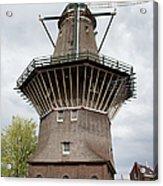 De Gooyer Windmill In Amsterdam Acrylic Print