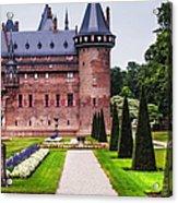 De Haar Castle 2. Utrecht. Netherlands Acrylic Print
