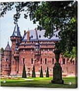 De Haar Castle 3. Utrecht. Netherlands Acrylic Print by Jenny Rainbow