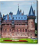 De Haar Castle. Utrecht. Netherlands Acrylic Print
