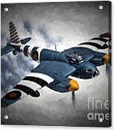 de Havilland Mosquito PR.Mk XVI Acrylic Print
