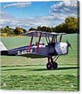 De Havilland Tiger Moth Acrylic Print