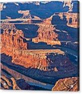 Dead Horse Dawn - Utah Sunrise Photograph Acrylic Print