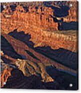 Dead Horse Point Sunrise Panorama Acrylic Print
