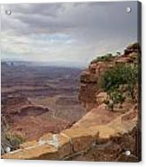 Dead Horse Point West Acrylic Print