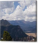 Dead Indian Panorama Acrylic Print