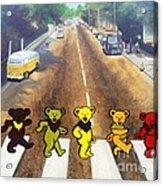 Dead On Abbey Road Acrylic Print by Jen Santa