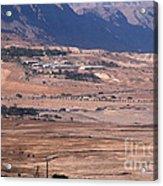 Dead Sea Acrylic Print