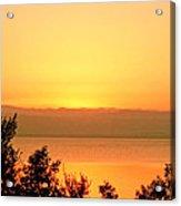 Dead Sea Sunset Acrylic Print