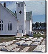 Deal Island Church Acrylic Print