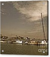 Deal Island Fishing Boats Acrylic Print