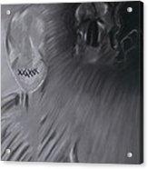 Death A Coward Acrylic Print