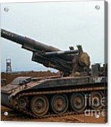 Death Dealer II  8 Inch Howitzer  At Lz Oasis Vietnam 1968 Acrylic Print