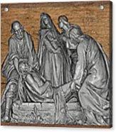 Death Of Christ Acrylic Print