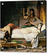 Death Of Cleopatra Acrylic Print