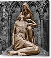 Death Of The Son Of God Acrylic Print
