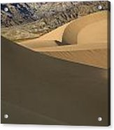 Death Valley Mesquite Flat Sand Dunes Img 0086 Acrylic Print