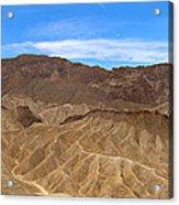 Death Valley Np Zabransky Point Ca 2 Acrylic Print