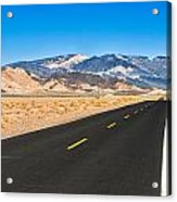 Death Valley Rd Acrylic Print