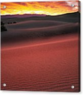 Death Valley Sunrise Acrylic Print