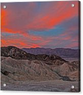 Death Valleyt Acrylic Print