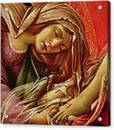 Deatil From The Lamentation Of Christ Acrylic Print