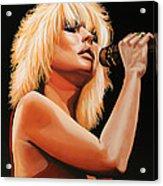 Deborah Harry Or Blondie 2 Acrylic Print
