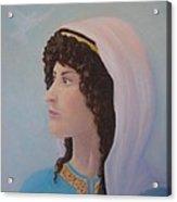 Deborah    Prophetess And Judge Acrylic Print
