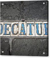 Decatur Acrylic Print