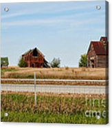 Decaying Farm Central Il Acrylic Print