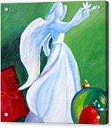 December's Angel Acrylic Print