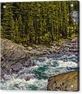 Dechutes River Rapids Bend Oregon Acrylic Print