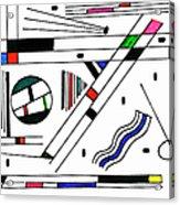 Deco 1 Acrylic Print