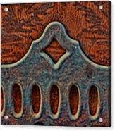 Deco Metal Red Acrylic Print