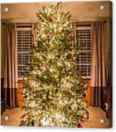 Decorated Christmas Tree Acrylic Print