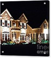 Decorated For Christmas Acrylic Print