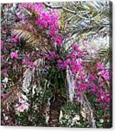 Decorated Palm Acrylic Print